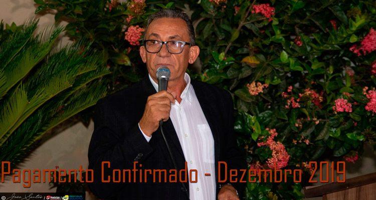 Prefeitura de Solidão confirma pagamento de dezembro de 2019