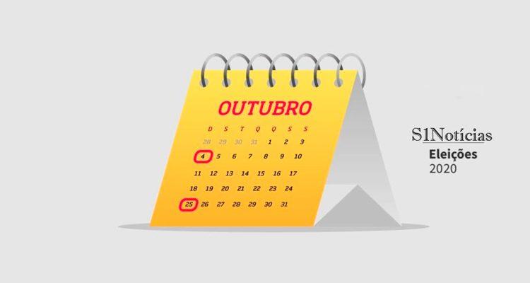 Eleições 2020: confira as datas do calendário eleitoral
