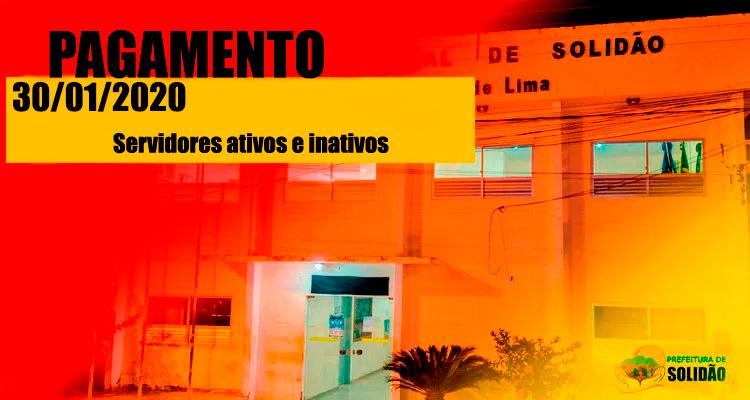 Prefeitura de Solidão confirma pagamento de janeiro de 2020
