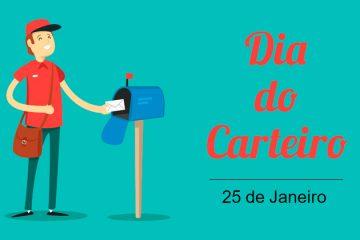 25 de janeiro - Dia do Carteiro