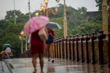 Apac alerta para chuvas fortes em três regiões do Estado