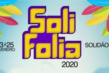 Confira a programação do Carnaval em Solidão