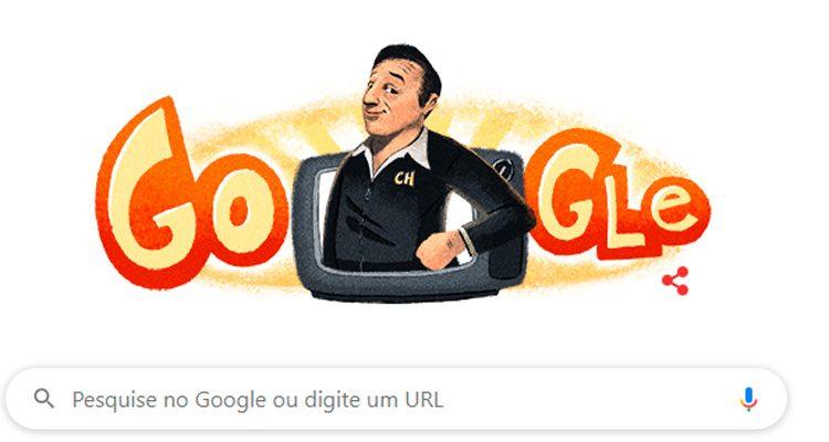 Roberto Bolaños, criador de Chaves, ganha homenagem do Google