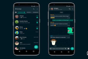 WhatsApp disponibiliza modo escuro para iPhone e Android