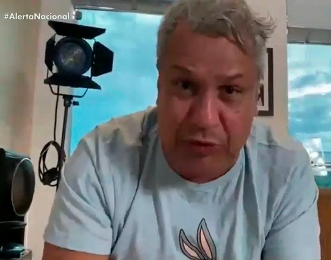 Apresentador Sikêra Júnior é afastado da TV por suspeita de Covid-19