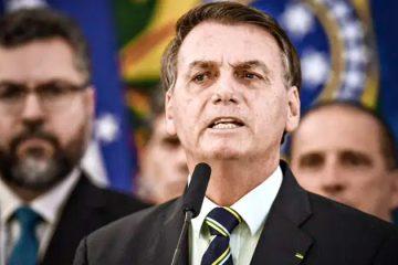 Impeachment de Bolsonaro é apoiado por 45% da população, diz Datafolha