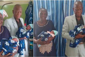 Mulher de 68 anos dá à luz a gêmeos