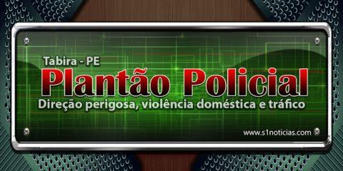 Tabira registras ocorrências de direção perigosa, violência doméstica e tráfico