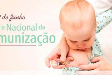 9 de junho - Dia da Imunização
