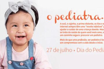 27 de julho - Dia do Pediatra