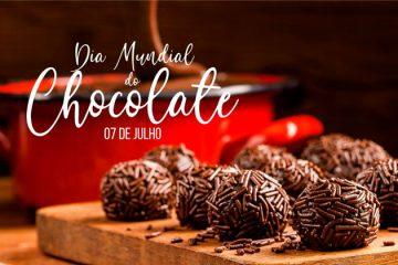 7 de julho - Dia Mundial do Chocolate