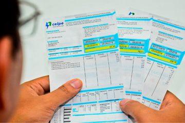 Celpe dá desconto para quem pagar contas atrasadas com cartão de crédito