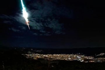 Meteoro corta o sertão a 72 mil km por hora