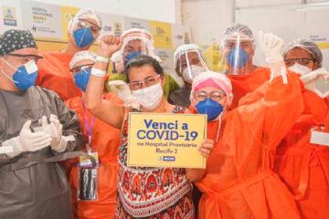 Pernambuco ultrapassa 90 mil curados da Covid-19