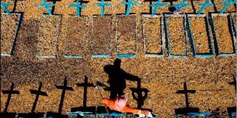 Covid-19: Brasil volta a registrar mais de mil mortes em 24 horas