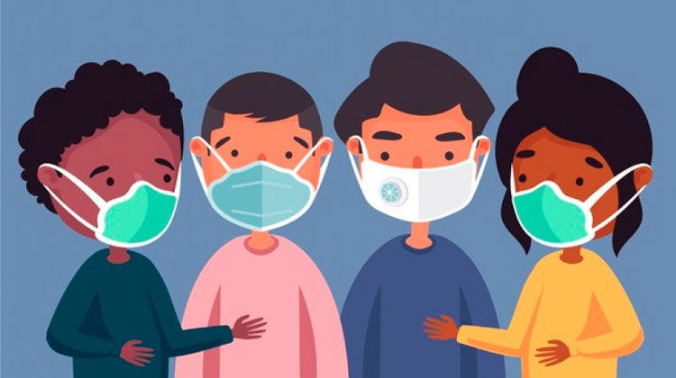 Uso de máscaras pode induzir produção de anticorpos contra Covid-19