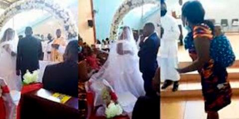 Homem casado é flagrado pela esposa tentando se casar com outra