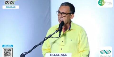 Djalma diz que em metade do governo teve que arrumar a casa por herança de Cida