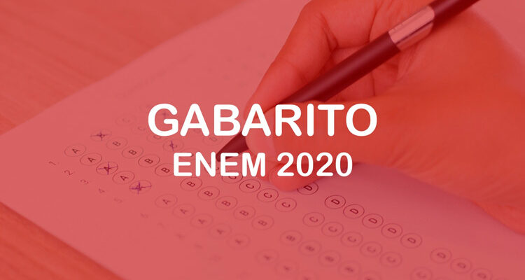 Inep divulga nesta quarta-feira gabarito oficial do Enem 2020