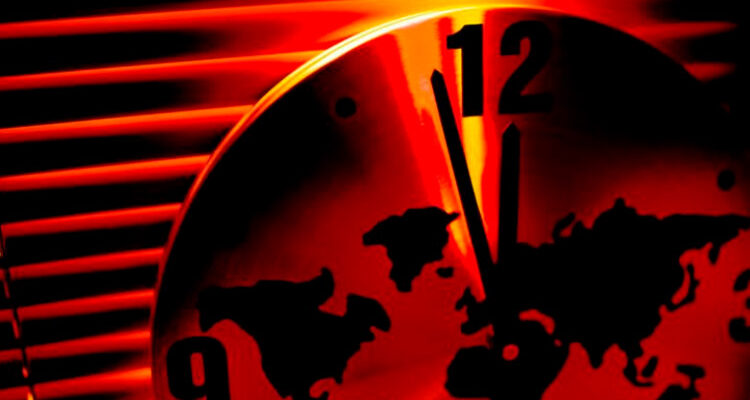 Relógio do apocalipse continua marcando 100 segundos para o fim