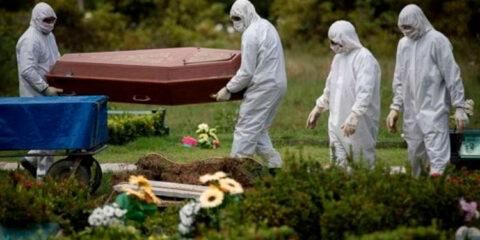 Brasil registra domingo mais letal da pandemia, com 1.656 novas mortes