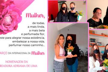 Vereadora Adriana de Lima faz homenagem para mulheres Solidanenses