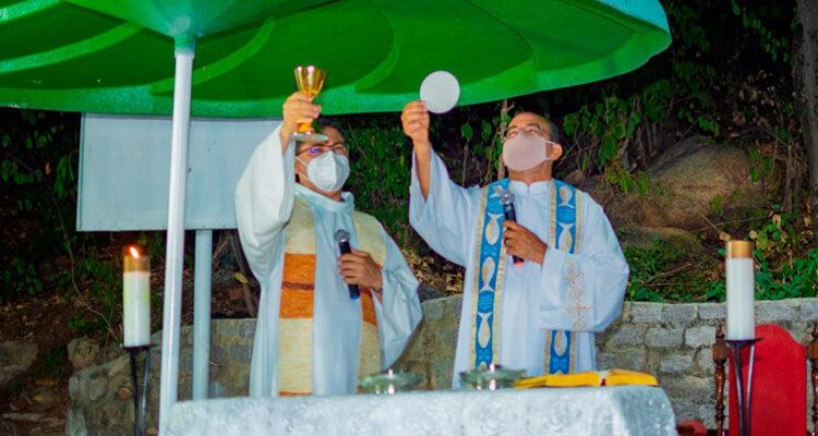 Pascom Solidão anuncia novo horário de celebrações na Paróquia