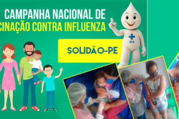 Influenza: Solidão inicia vacinação contra a gripe