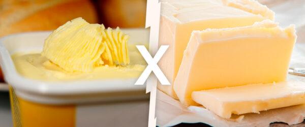 Manteiga e Margarina: qual é a diferença entre as duas?