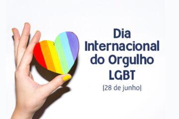 28 de junho - Dia Internacional do Orgulho Gay