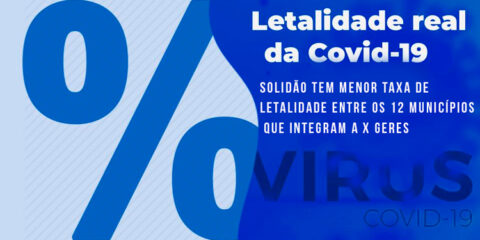 Solidão tem menor taxa entre os municípios com menor letalidade entre os 12 municípios que integram a X GERES
