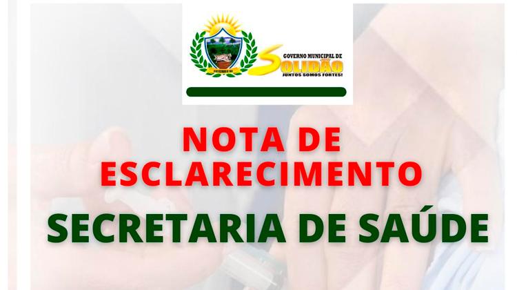 Esclarecimento: Secretária de saúde informa que não aplicou vacina vencida no Munícipio