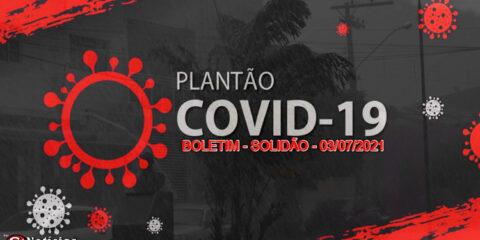 Solidão-PE: Boletim informativo Covid-19 – 03/07/2021
