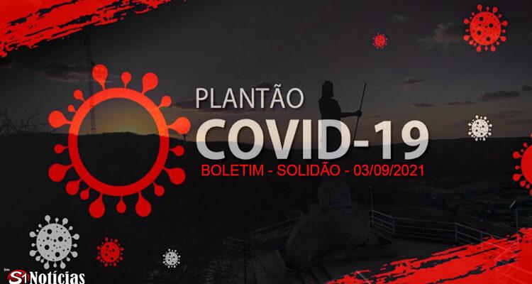 Solidão-PE: Boletim informativo Covid-19 – 03/09/2021