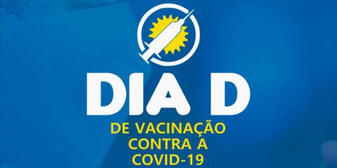 Solidão tem Dia D de vacinação contra a Covid-19 neste sábado (25)