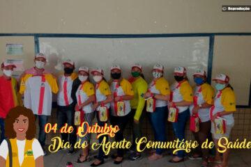 4 de outubro - Dia do Agente Comunitário de Saúde