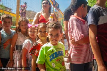 Djalma Alves promoveu manhã de lazer para as crianças em parque