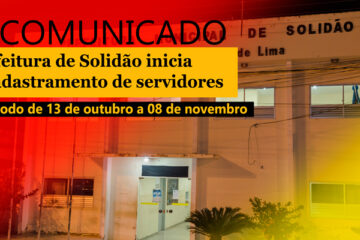 Prefeitura de Solidão inicia recadastramento de servidores