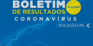 Solidão-PE: Boletim informativo Covid-19