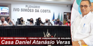 Djalma Alves tem prestação de contas aprovada por vereadores de Solidão